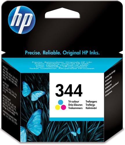 HP inktcartridge 344, 560 pagina's, OEM C9363EE, 3 kleuren