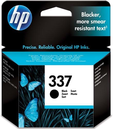 HP inktcartridge 337, 420 pagina's, OEM C9364EE, zwart