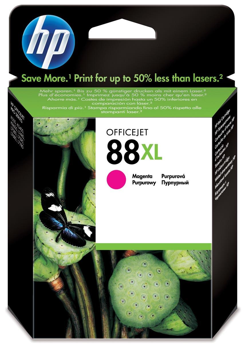 HP inktcartridge 88XL, 1 980 paginas, OEM C9392AE, magenta