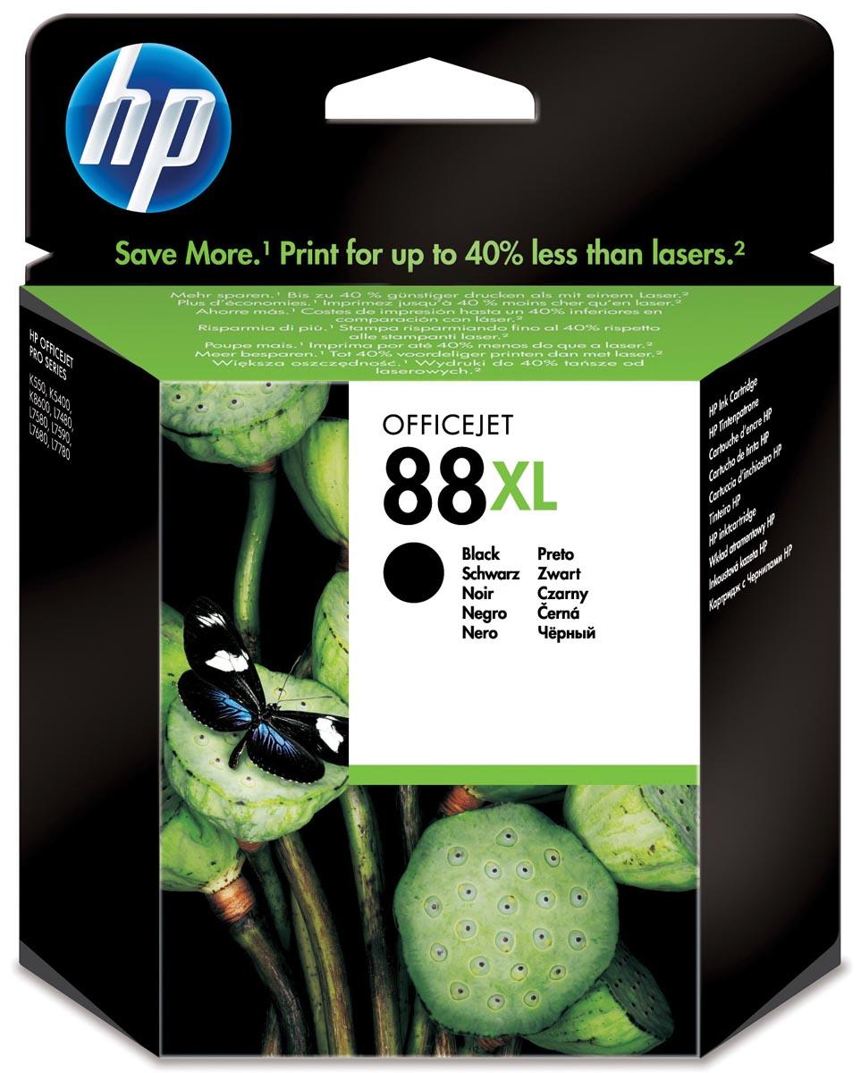HP inktcartridge 88XL, 2 450 paginas, OEM C9396AE, zwart