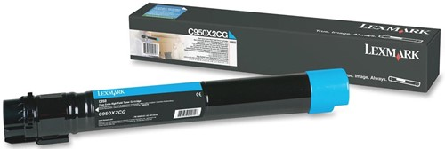 Lexmark Toner cyaan - 24000 pagina's - C950X2CG