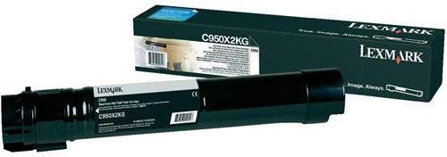 Lexmark Toner zwart - 38000 pagina's - C950X2KG