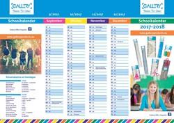 Gallery schoolkalender 2017-2018