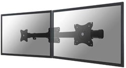 Newstar dubbele monitorarm adapter FPMA-CB100, zwart