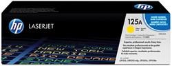 HP Tonercartridge geel 125A - 1400 pagina's - CB542A