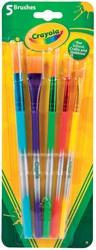 Crayola penselen, blister met 5 stuks