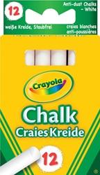Crayola bordkrijt, doos met 12 stuks, wit