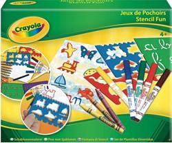 Crayola hobbyset sjablonen, doos met 6 sjablonen