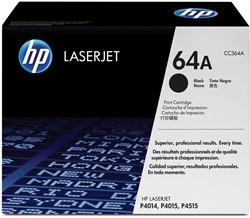 HP Tonercartridge zwart 64A - 10000 pagina's - CC364A