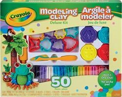 Crayola boetseerklei Deluxe kit