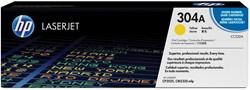 HP Tonercartridge geel 304A - 2800 pagina's - CC532A