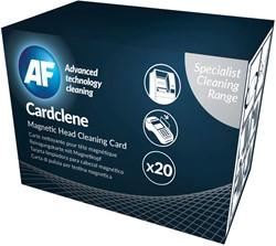 AF Cardclene reinigingskaart, pak van 20 stuks