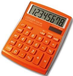 Citizen Allrounder bureaurekenmachine CDC-80, oranje