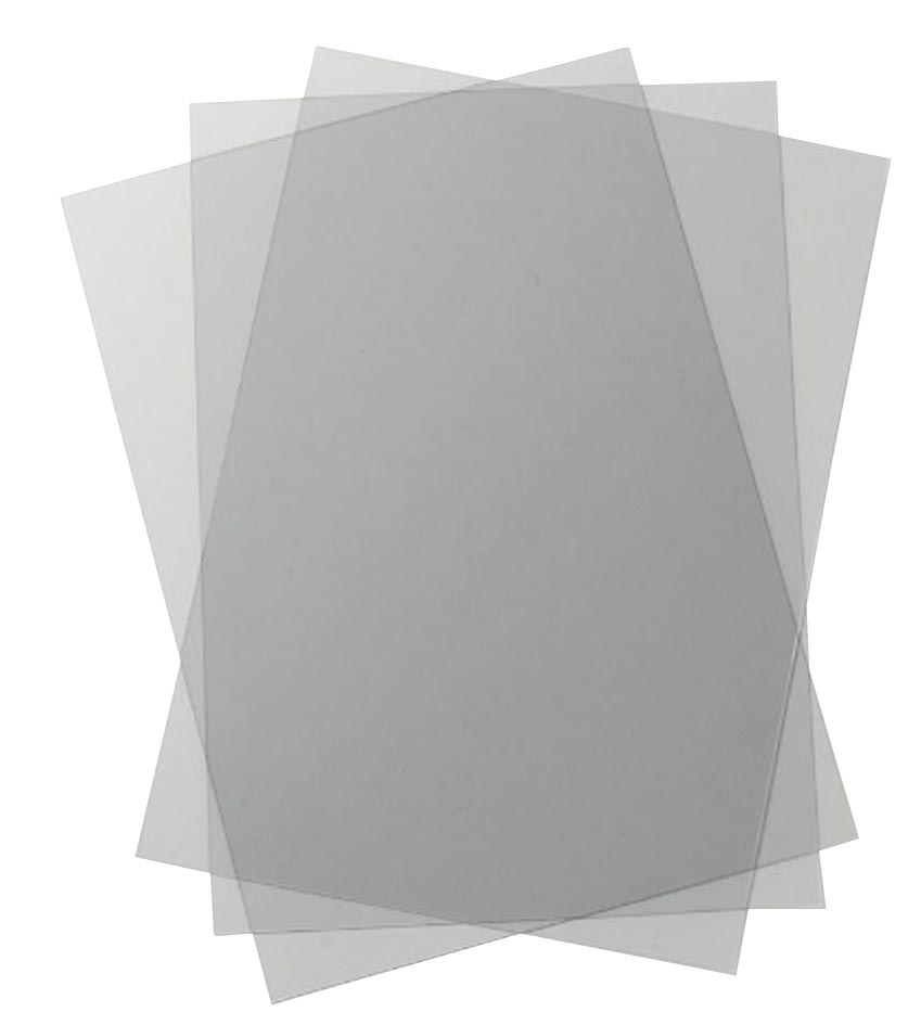 GBC omslagen HiClear ft A4, pak van 100 stuks, transparant, 200 micron
