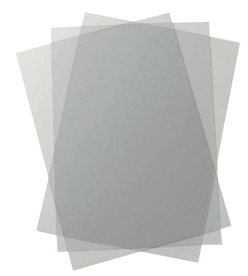 GBC omslagen HiClear ft A4, pak van 100 stuks, transparant, 300 micron