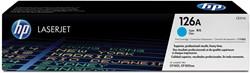 HP Toner cyaan 126A - 1000 pagina's - CE311A