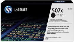 HP Tonercartridge zwart High-Capacity 507X - 11000 pagina's - CE400X