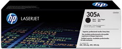 HP Tonercartridge zwart 305A - 2200 pagina's - CE410A