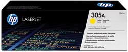 HP Tonercartridge geel 305A - 2600 pagina's - CE412A