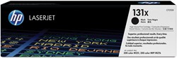 HP Tonercartridge zwart 131X - 2400 pagina's - CF210X