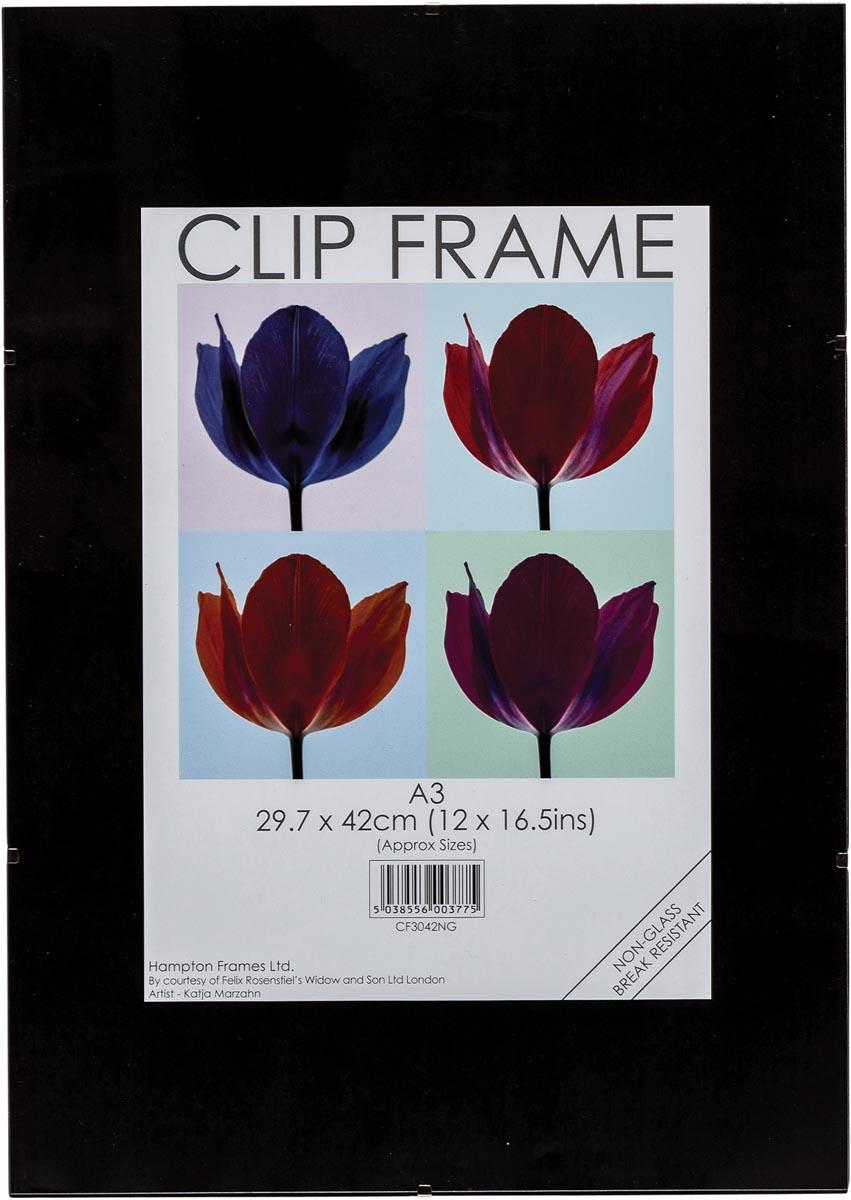 TPAC fotokader met clips, ft A3