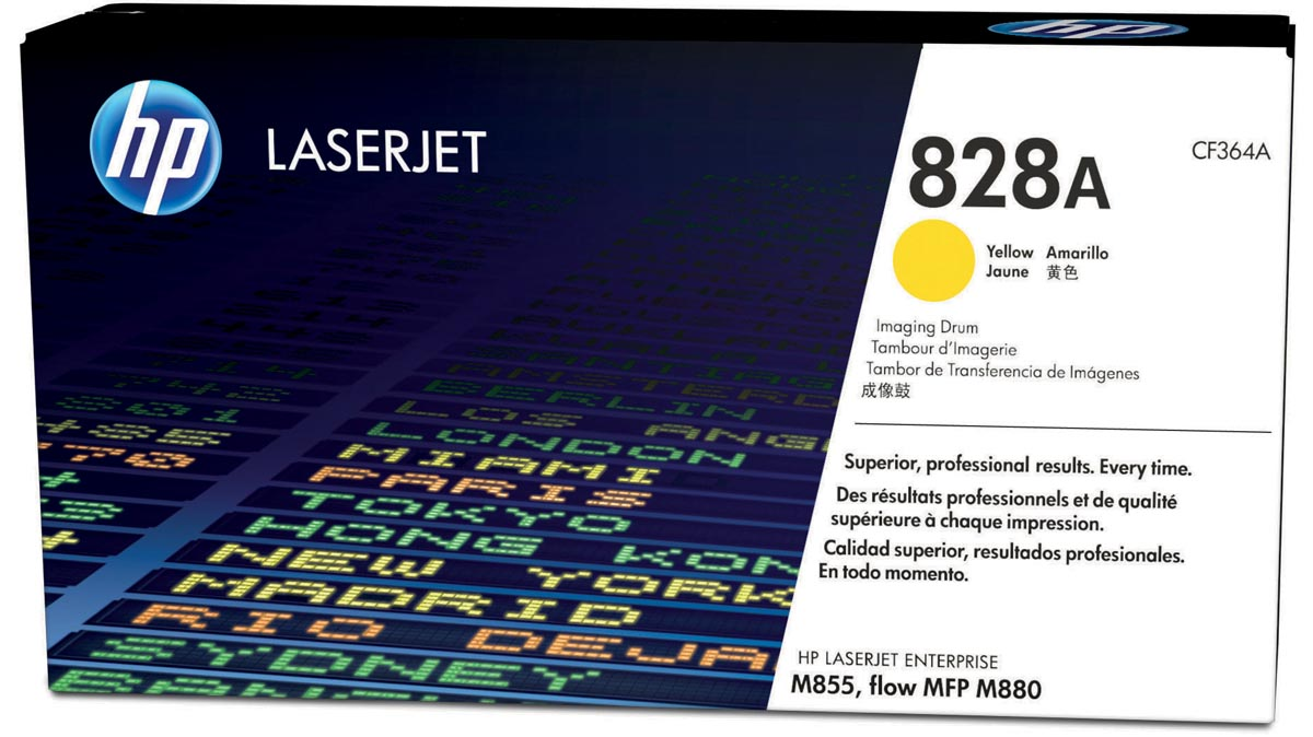 HP drum 828A, 30.000 pagina's, OEM CF364A, geel