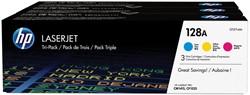 HP Toner MultiPack C,M,Y 128A - 1300 pagina's - CF371AM