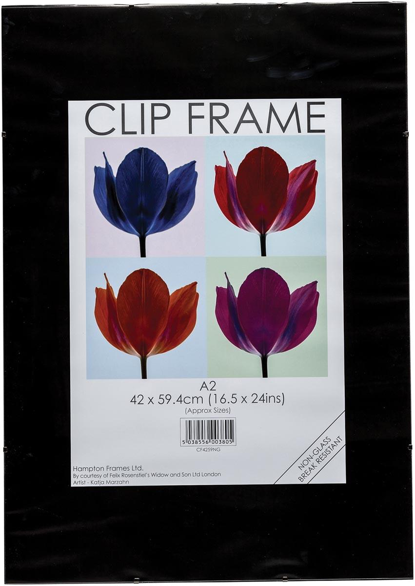 TPAC fotokader met clips, ft A2