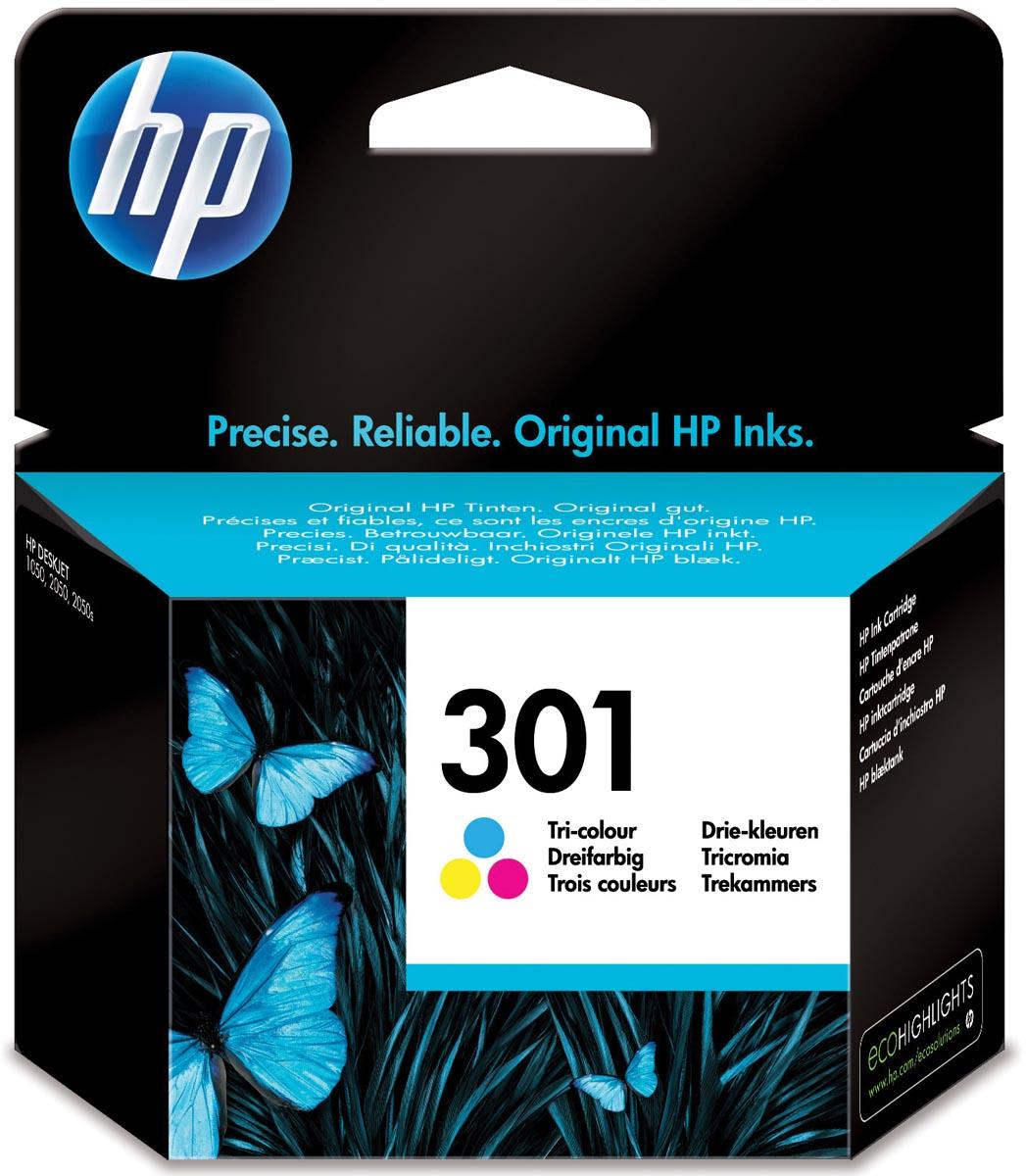 Inkcartridge HP CH562EE nr.301 kleur
