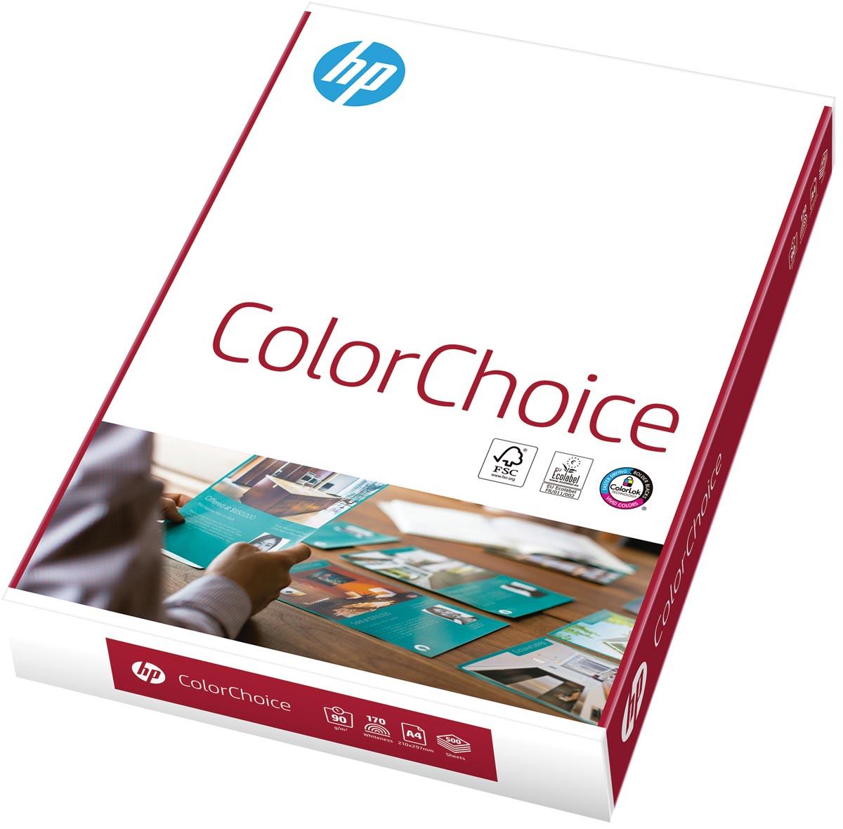 HP ColorChoice printpapier ft A4, 90 g, pak van 500 vel