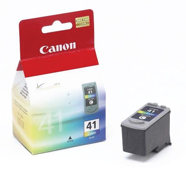 Canon inktcartridge CL-41, 308 pagina's, OEM 0617B001, 3 kleuren