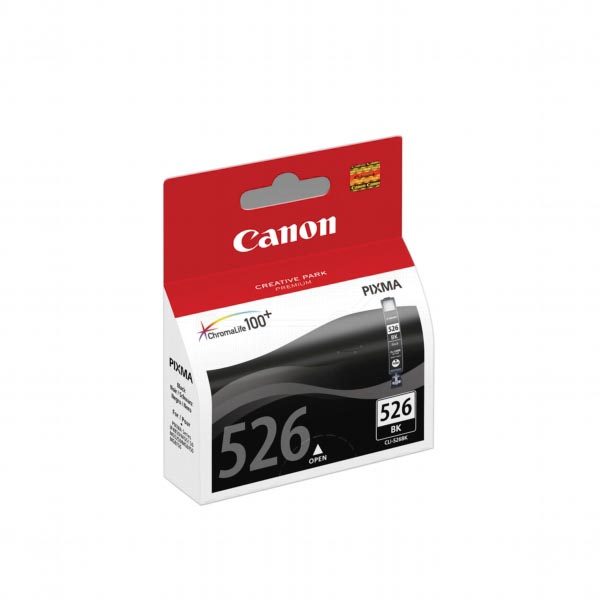 Canon inktcartridge CLI-526BK, 2.185 pagina's, OEM 4540B001, zwart