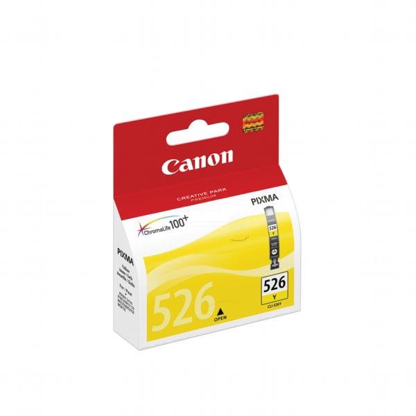 Canon inktcartridge CLI-526Y, 450 pagina's, OEM 4543B001, geel