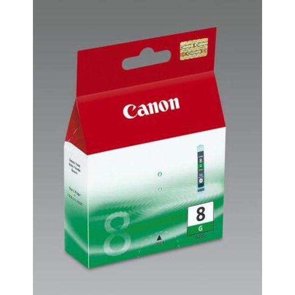 Canon inktcartridge CLI-8G, 5845 pagina's, OEM 0627B001, groen
