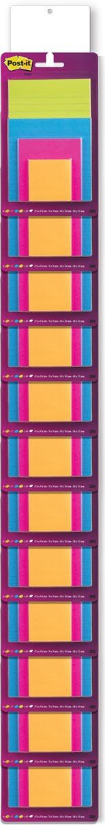 Post-It Super Sticky Notes clipstrip de 24 x réf. 4622SSE