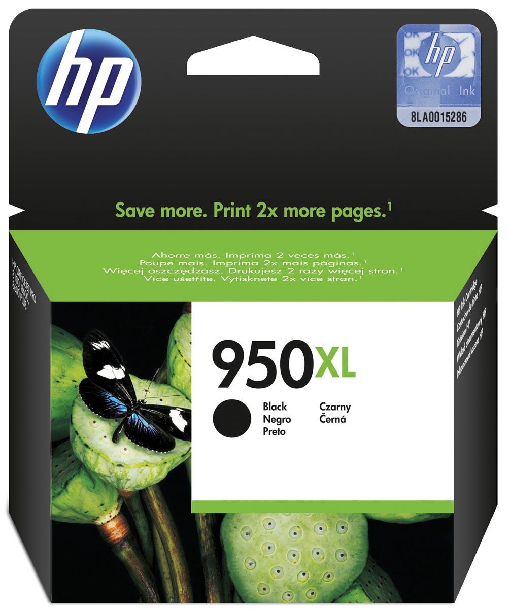 HP inktcartridge 950XL, 2 300 paginas, OEM CN045AE, zwart