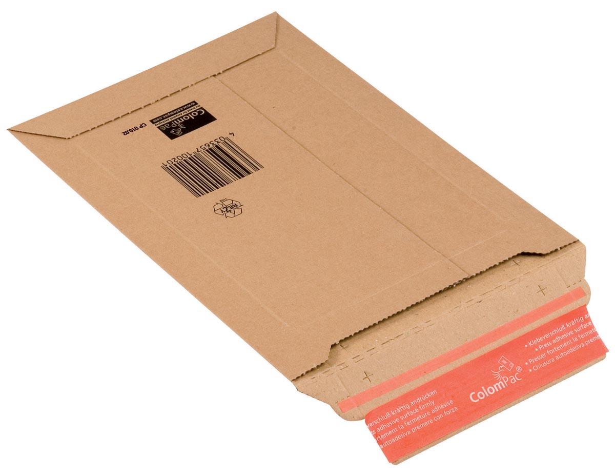 Colompac verzendenvelop CP010, ft 18,5 x 27 x 5 cm, bruin