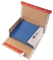 Colompac verzenddoos voor ordners CP055, ft 32 x 29 x 3,5-8 cm, bruin-1