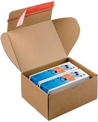 Colompac verzenddoos Modulbox, binnenformaat 192 x 155 x 91 mm, bruin