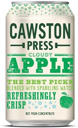 Cawston Press frisdrank Cloudy Apple blikje van 33 cl, pak van 24