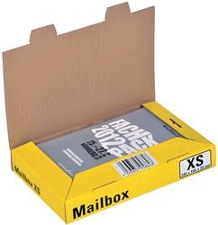 Colompac Mailbox Extra Small, kan tot 5 formaten aannemen, geel