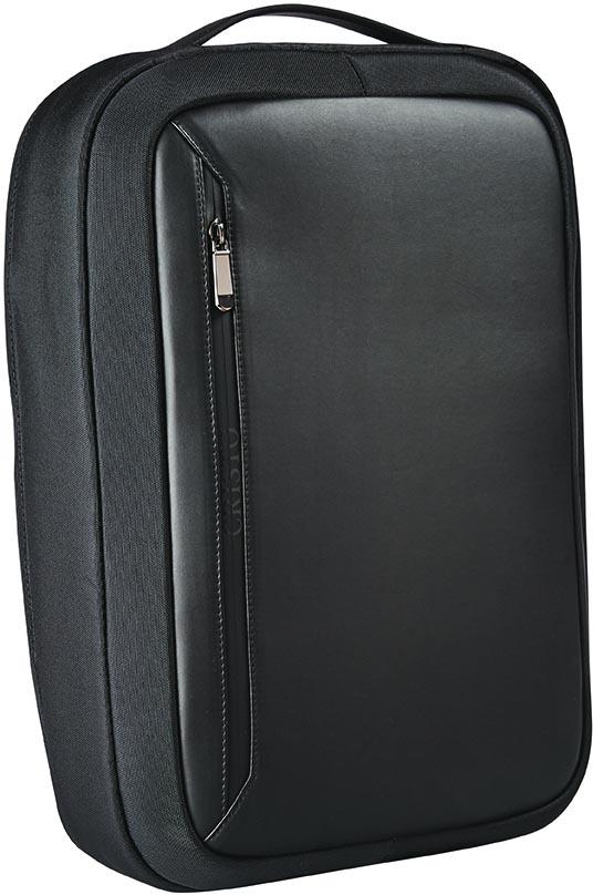Cristo Business laptoprugzak voor 15,6 inch laptops, anti-diestal, zwart