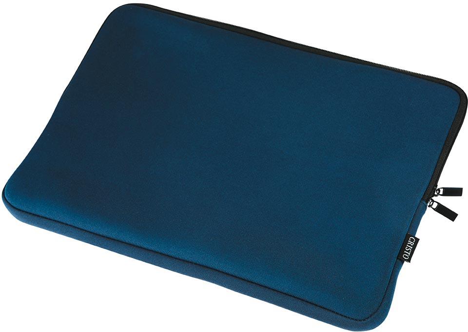 Cristo Portable sleeve voor 15,6 inch laptops, blauw