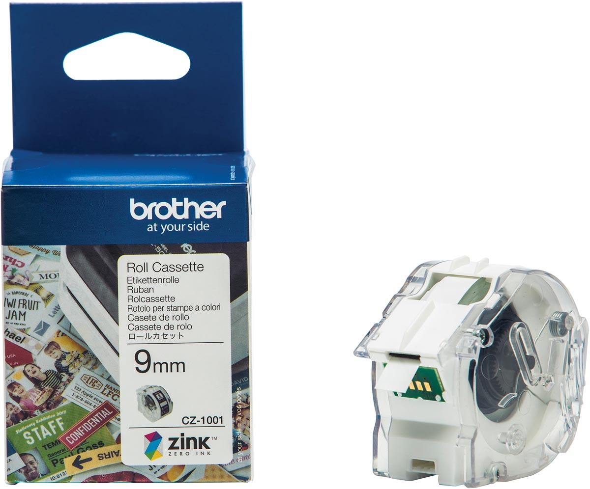 Brother Kleurenlabels 9mm