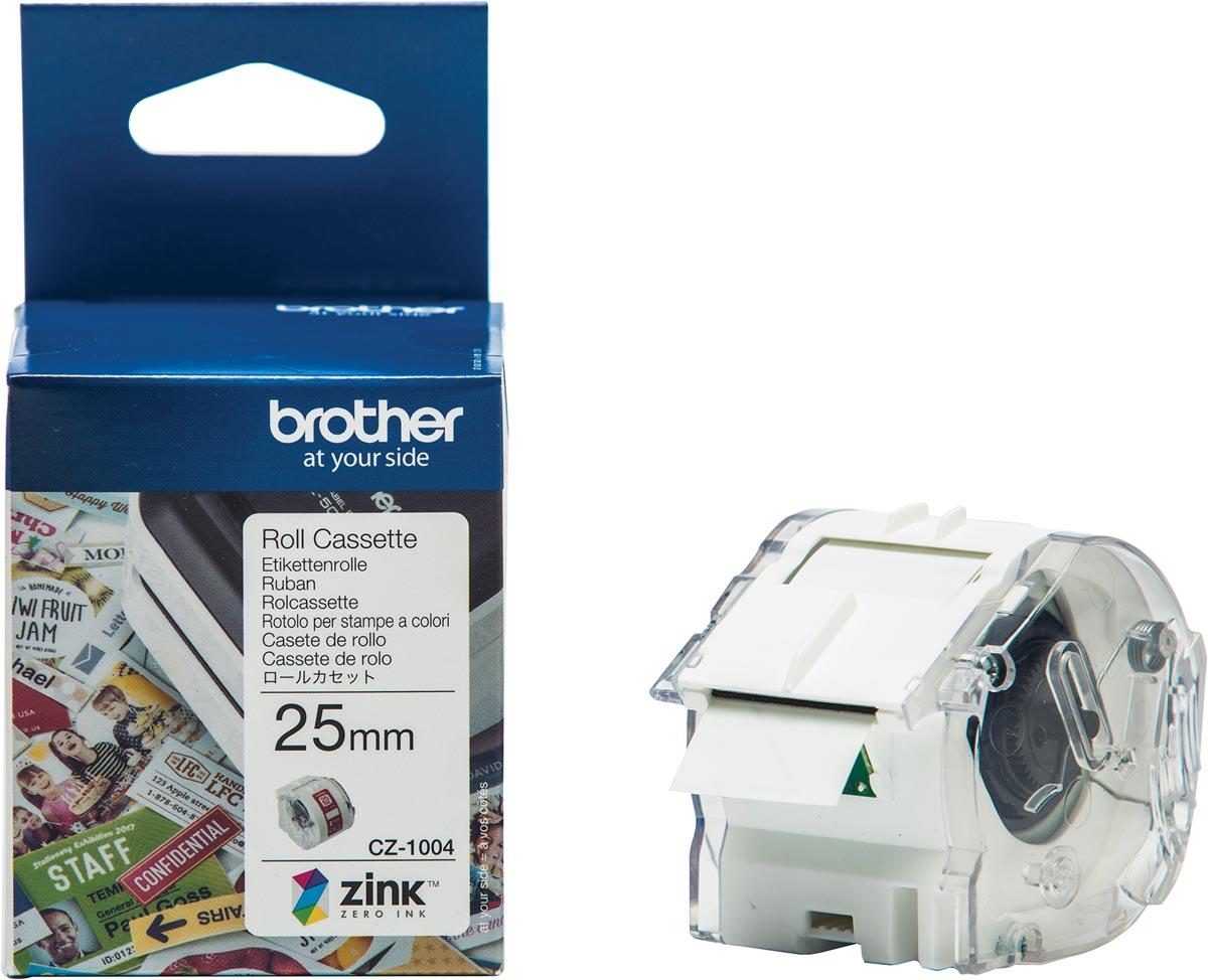 Brother Kleurenlabels 25mm