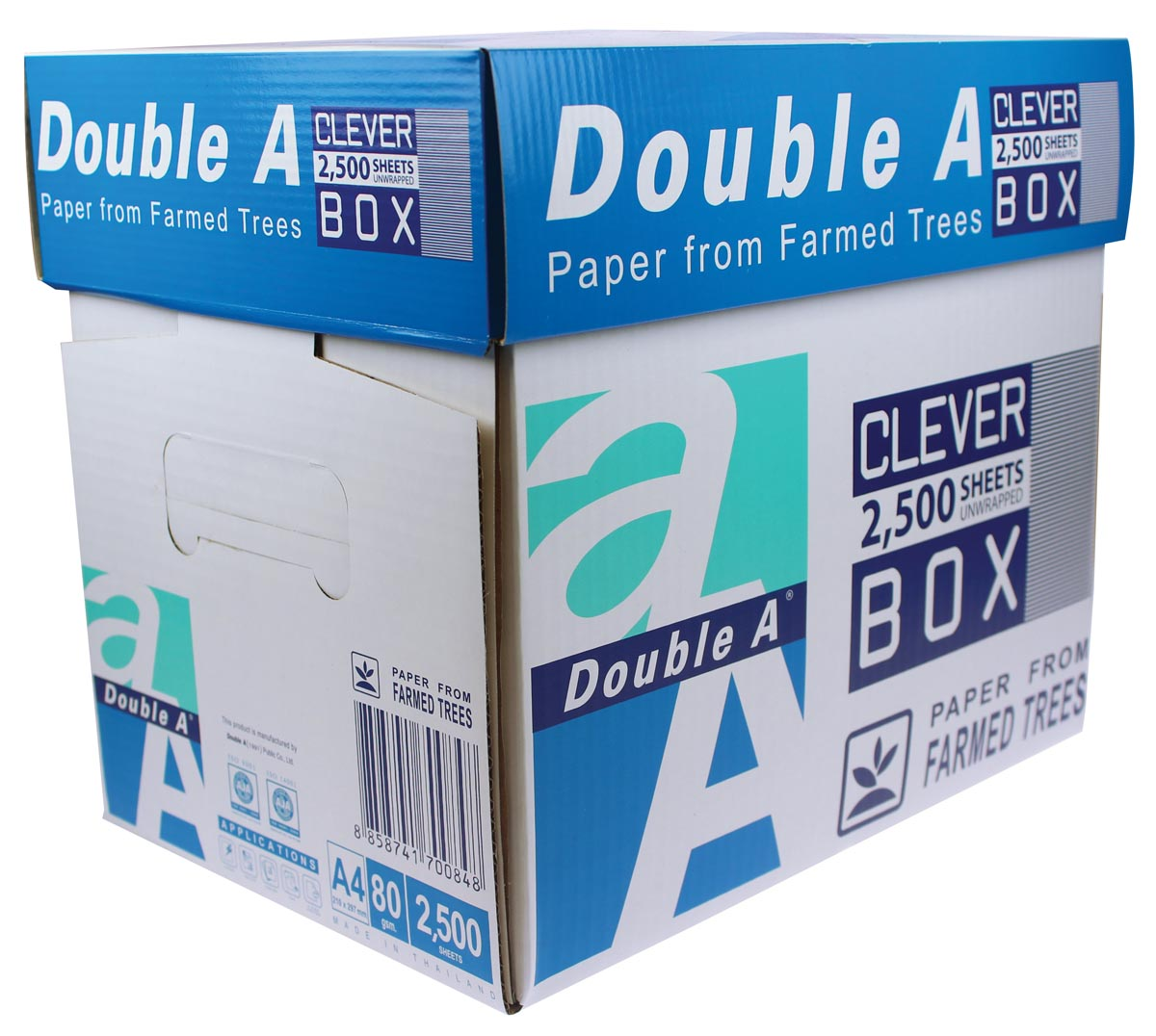 Double a paper A4 80 grams 2500 vel Non-Stop Box (D1049)