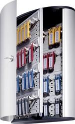 Durable sleutelkast Key Box, voor 48 sleutelhangers, ft 30,2 x 40 x 11,8 cm, grijs
