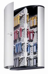 Durable sleutelkast Key Box, voor 72 sleutelhangers, ft 30,2 x 40 x 11,8 cm, grijs