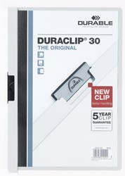 Durable klemmap Duraclip Original 30 wit