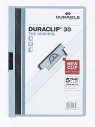 Durable klemmap Duraclip Original 30 blauw